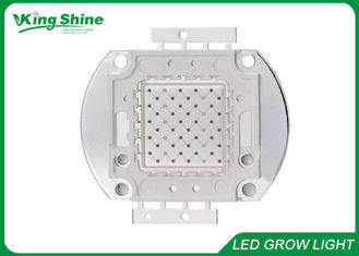 Warm White Bridgelux Multichip Led Light Chip , Red 100 Watt Led Chip 660nm