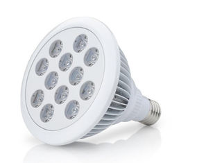 चीन White 12W Led Grow Lights Full Spectrum E27 Led Light Bulbs With Epistar Chip आपूर्तिकर्ता
