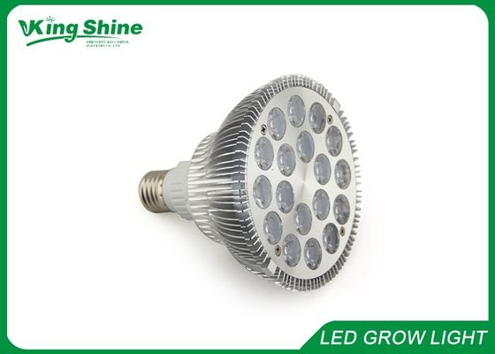 चीन Custom PAR38 E27 Led Grow Light Bulbs 18x3w With 60 / 90 Degree Beam Angle आपूर्तिकर्ता
